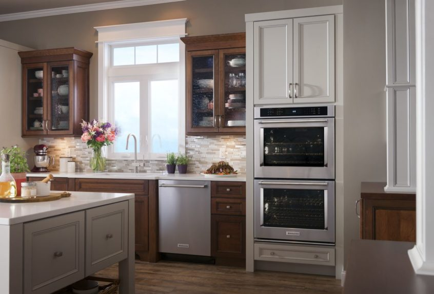 Installing Double Oven Kitchen Aid